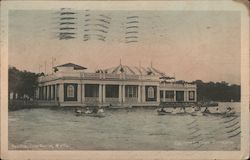 Pavilion, Lake Harriet Postcard