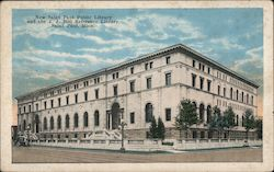 New Saint Paul Public Library and the J.J. Hill Reference Library Postcard
