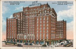 The new Nicolet Hotel Postcard