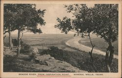 Brazos River, From Inspiration Point Postcard