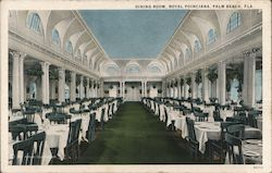 Dining Room, ROyal Poinciana Postcard