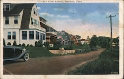 Sea View Avenue Postcard