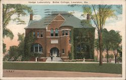 Hedge Laboratory Bates College Postcard
