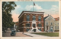 Elks Home Postcard