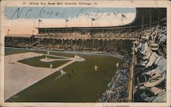 White Sox Base Ball Ground Postcard
