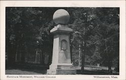 Haystack Monument at Williams College Postcard