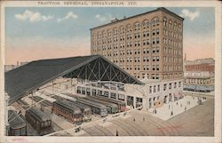 Traction Terminal Postcard