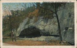 Rocky Side Park, The Cave Postcard