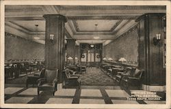 Writing Room - Hotel Deming Postcard