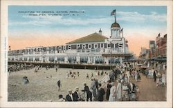 Exhibition of General Motors Products - Steel Pier Postcard