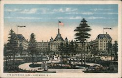 The Lakewood Hotel Postcard