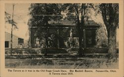 The Tavern As It Was In The Old Stage Coach Days, The Randell Tavern, A Tavern Since 1810 Postcard