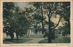 Hillsdale House and Cabins Postcard