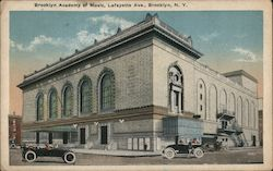 Brooklyn Academy of Music, Lafayette Ave Postcard