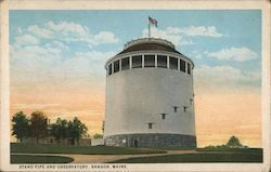 Stand Pipe and Observatory Postcard