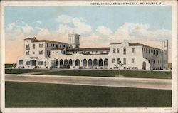 Hotel Indialantic By The Sea Postcard