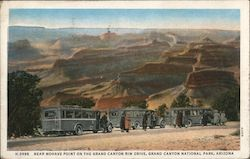 Near Mohave Point on the Grand Canyon Rim Drive Postcard