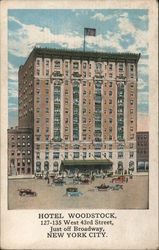 Hotel Woodstock 127-135 West 43rd Street just off Broadway