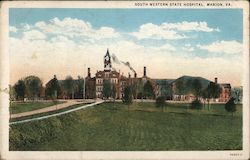 South Western State Hospital Postcard