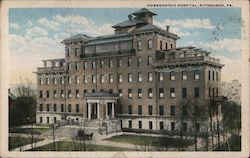 Homeopathic Hospital Postcard