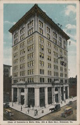 Chamber of Commerce & Metro Building Postcard