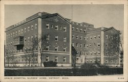 Grace Hospital Nurses' Home Postcard