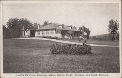 Lunt's Pavilion Shore, Steak, Chicken, and Duck Dinners Postcard