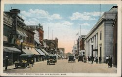Purchase Street, South from ELm Postcard