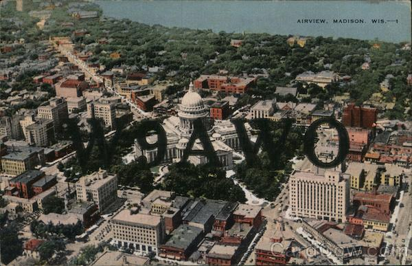 Airview Madison Wisconsin