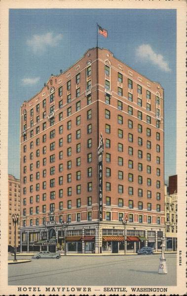 Hotel Mayflower Seattle Washington