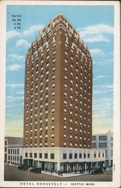 Hotel Roosevelt Seattle Washington