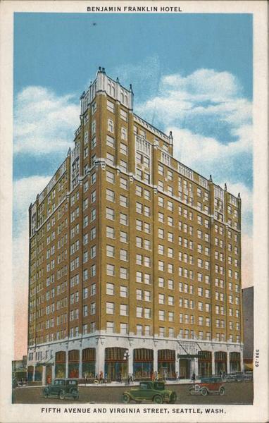 Benjamin Franklin Hotel Seattle Washington