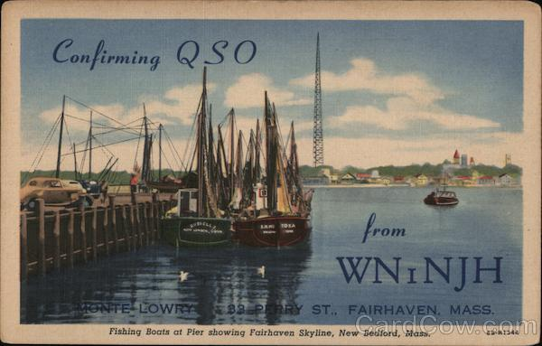 Confirming QSO from WNiNJH New Bedford Massachusetts