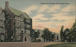 Buildings At Connecticut College Postcard