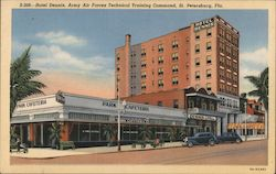 Hotel Dennis, Army Air Forces Techinal Training Command Postcard