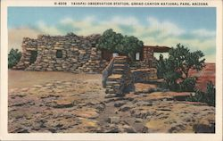 Yavapai Observation Station, Grand Canyon National Park Postcard