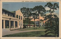 "Masonic Home, ""The Sunshine City"" Postcard"