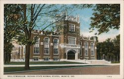 Ball Gymnasium, Indiana State Normal School Postcard