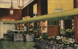 The Winthrop Hotel's Daffodil Room Postcard