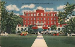 The Kentwood Arms Hotel Postcard