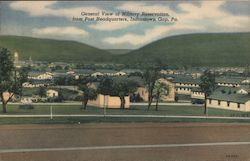 General View of Military Reservation, from Post Headquarters Postcard