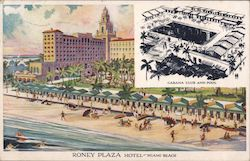 Roney Plaza Hotel Postcard