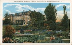 Chapin House, Botanical Gardens, Smith College Postcard