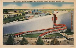 General Motors Highways and Horizons Exhibit - New York World's Fair Postcard
