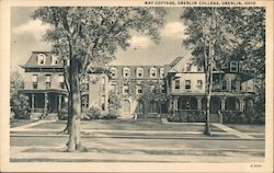 May Cottage, Oberlin College Postcard