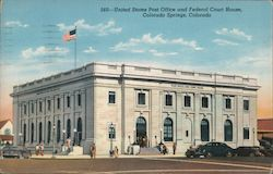United States Post Office and Federal Court House Postcard