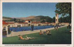 Laughton Hot Springs and Swimming Pool Postcard