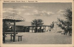 Ogunquit Lobster Pound, Route 1 Postcard