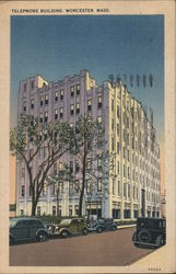 Telephone Building Postcard
