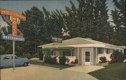 Holiday House Restaurant Postcard